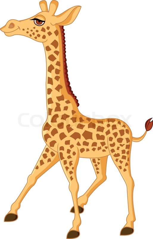 giraffe cartoon stock vector colourbox toy box clip art image empty toy box clipart