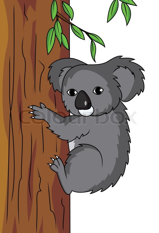 Koala Cartoon Stock Vector Colourbox Here you can explore hq cartoon koala transparent illustrations, icons and clipart with filter setting polish your personal project or design with these cartoon koala transparent png images, make it. koala cartoon stock vector colourbox