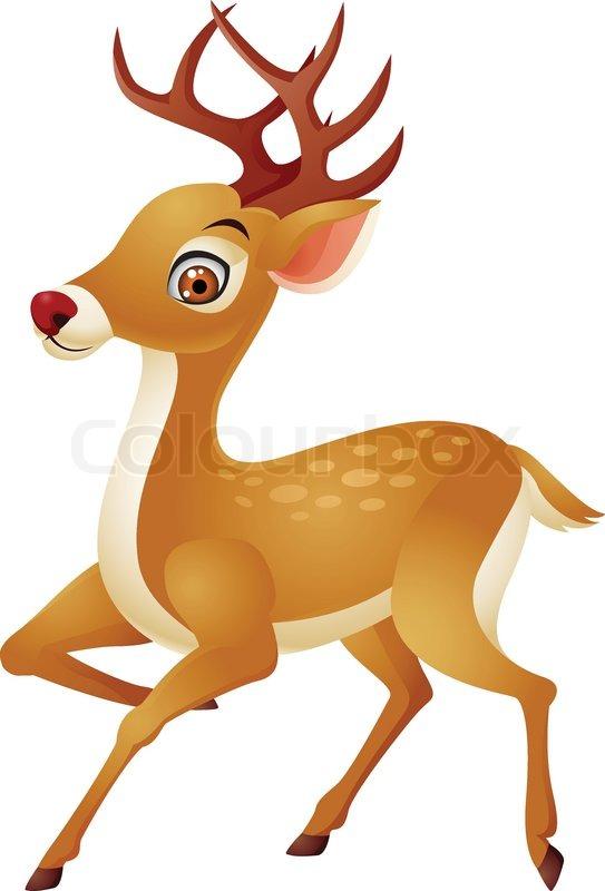 free clipart cartoon deer - photo #41