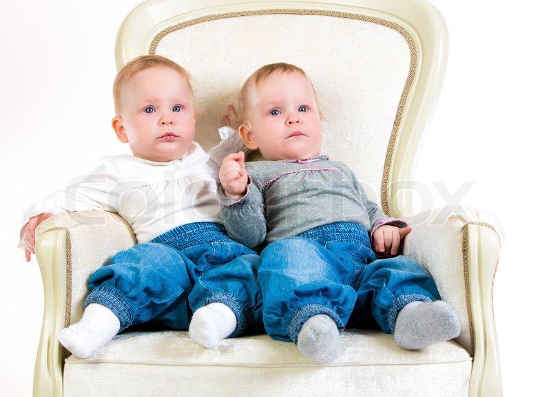 1 jahr altes baby mädchen | stock bild | colourbox