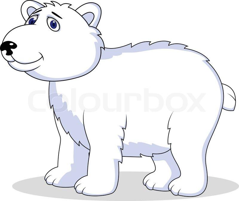 polar bear cartoon stock vector colourbox Bear Clip Art grizzly bear mascot clipart