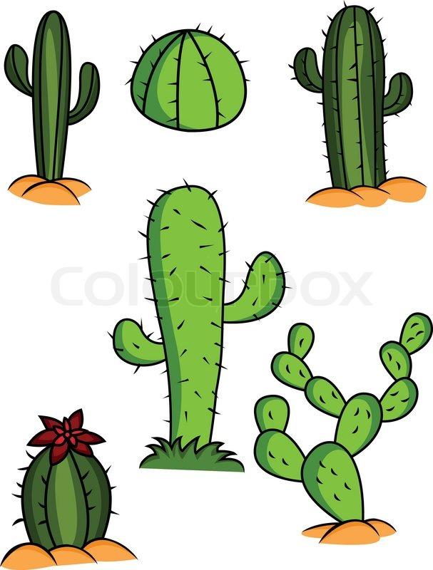 Cactus Collection | Stock vector | Colourbox