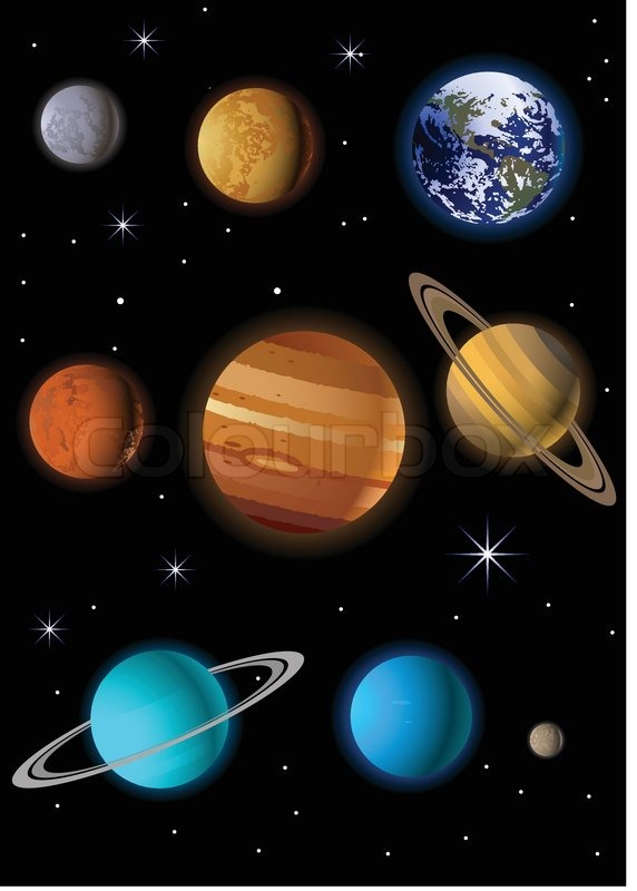 solar system vector free download - photo #25