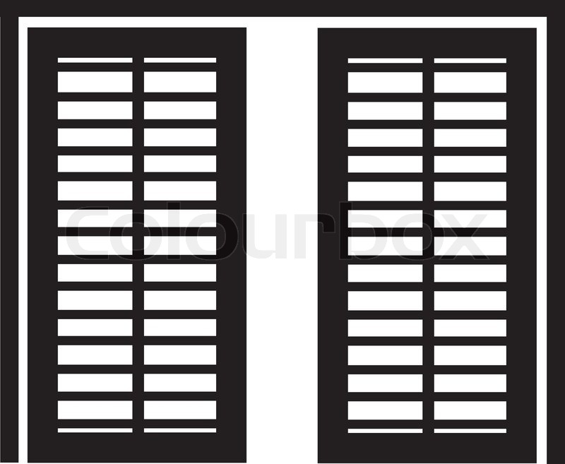 sc 1 st  Colourbox & Shoji Japanese sliding door-wall | Stock Vector | Colourbox pezcame.com