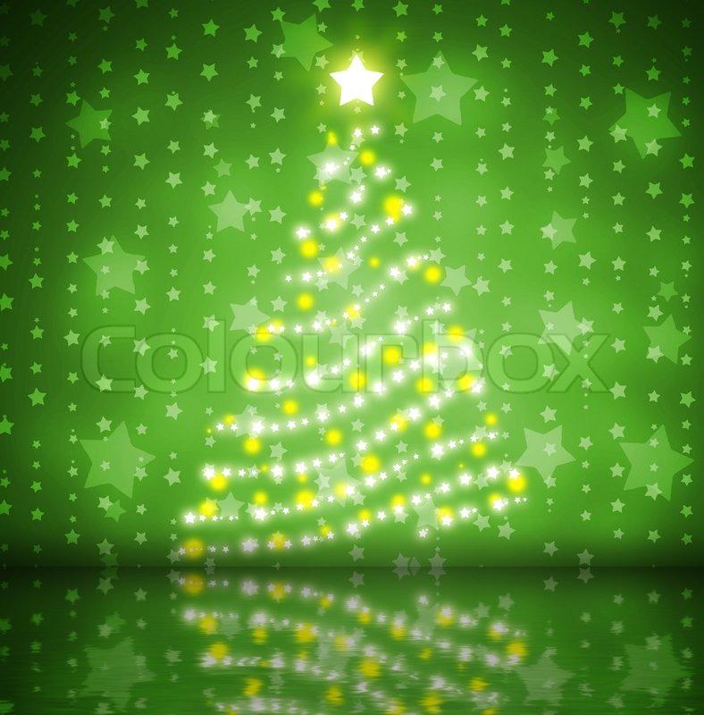 Christmas Lights 33455 2020 Christmas tree   Stock image   Colourbox