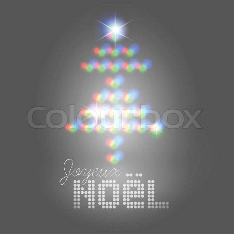 Weihnachtsgrüße abstrakte Bühne lights christmas tree pattern ...