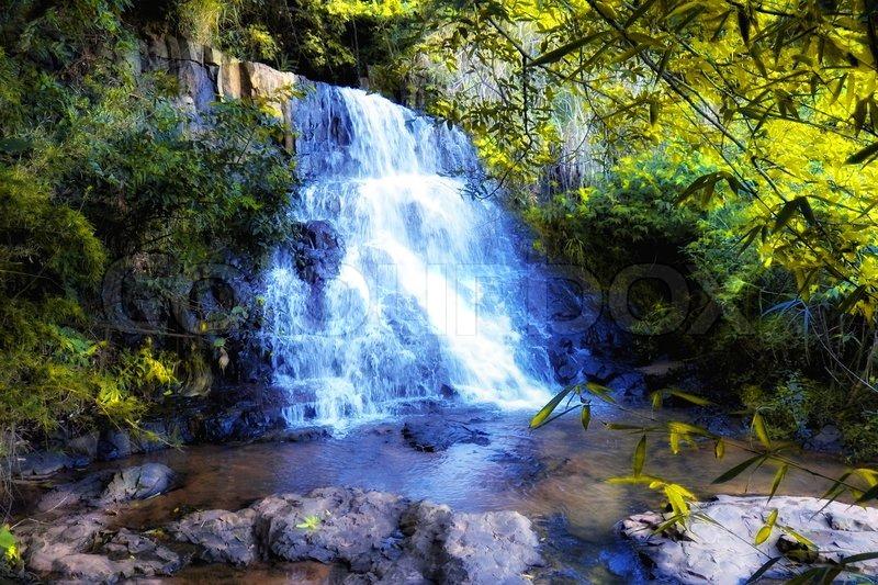 Cachoeira Do Parque Basalto