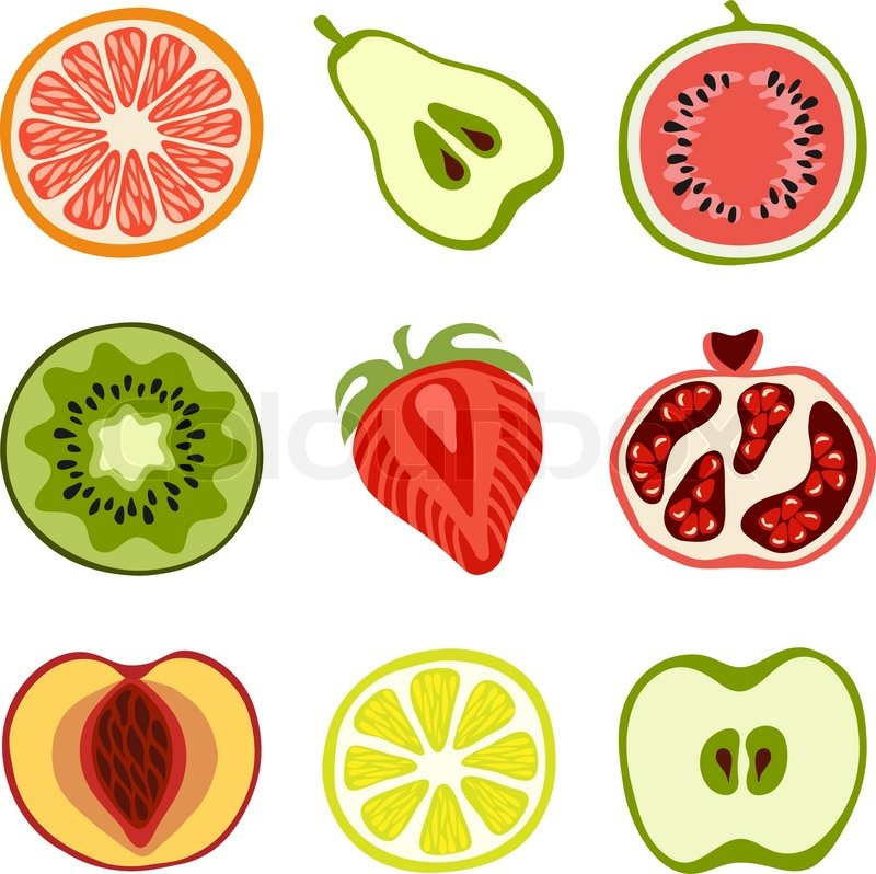 how to serve cut fruits