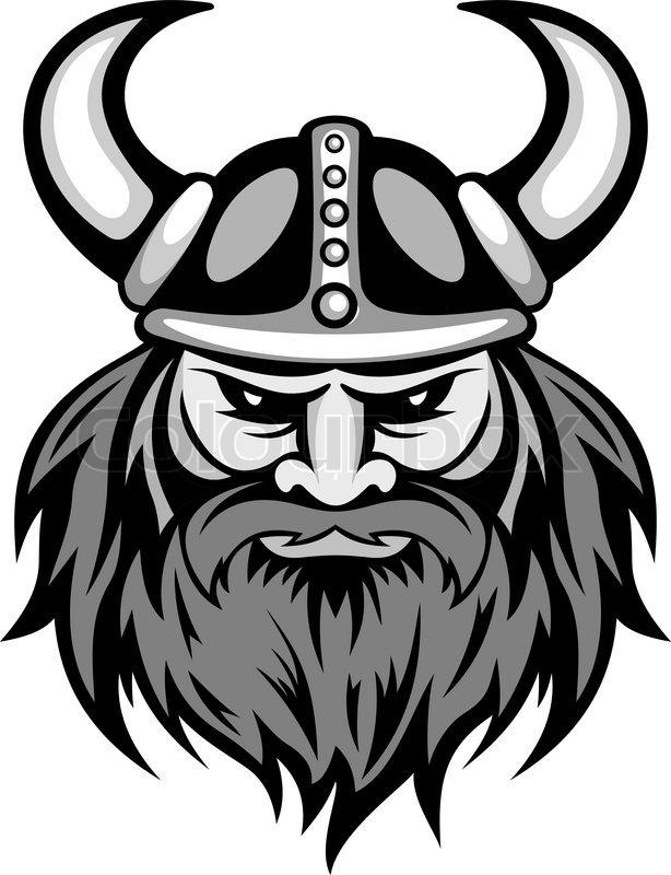 Profil grafik st rke vektorgrafik colourbox - Dessin de viking ...
