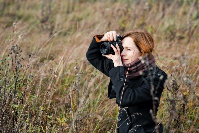 Female Photographer Outdoor