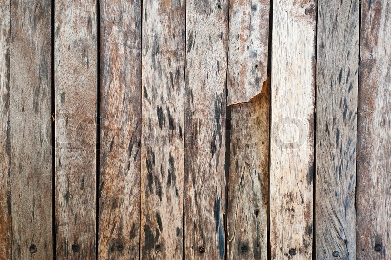Broken Old Wood Background Stock Photo Colourbox