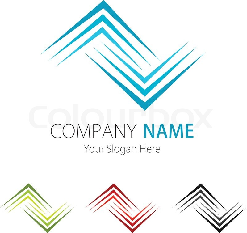 Company Business Logo Design Vector Stock Vector