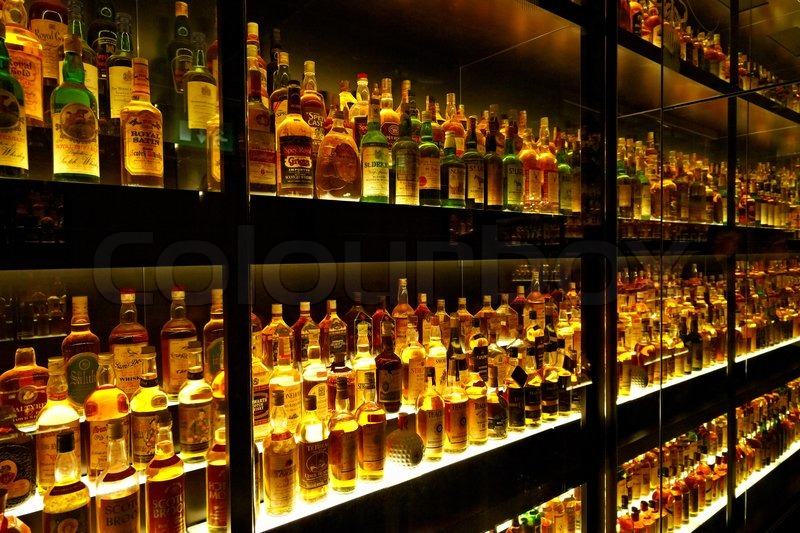 The largest Scotch Whisky collection in the world | Stock ...