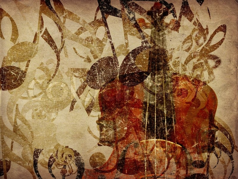 Vintage Music Note Wallpapers For Android Harmony: Vintage Violin Background