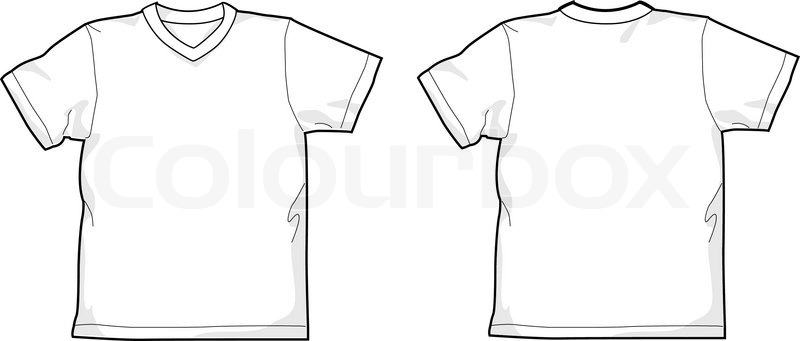 T Shirt V Ausschnitt
