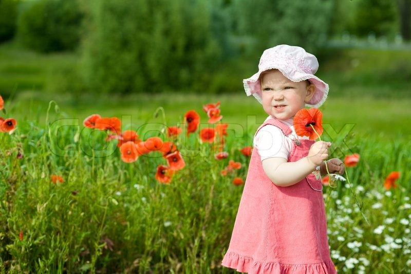 Baby Photos With Flowers