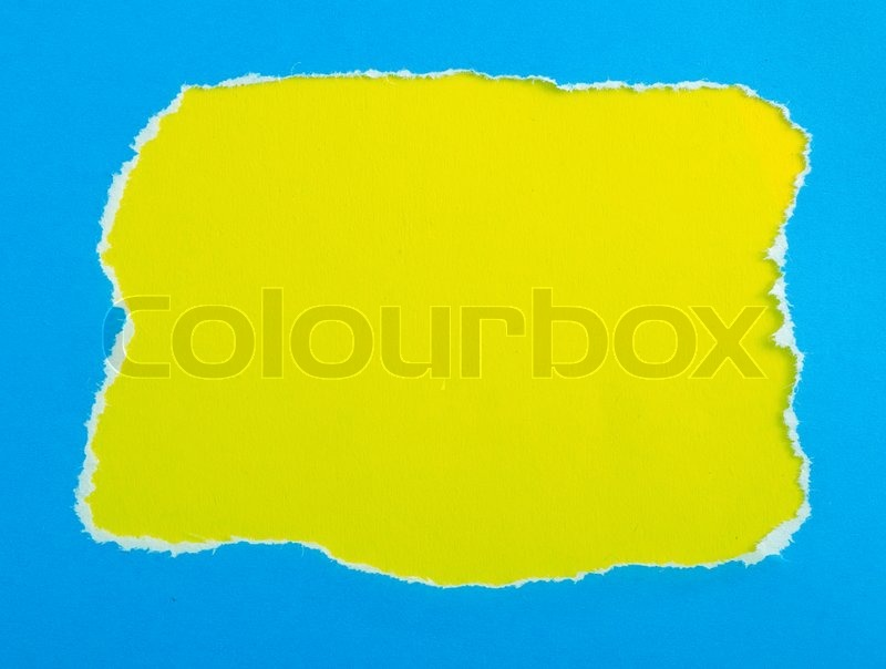 Frame from color papers, colorful paper with space | Stock Photo ...