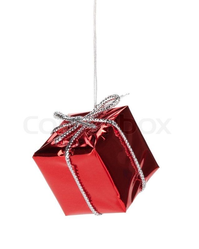christmas gift box decor stock photo colourbox