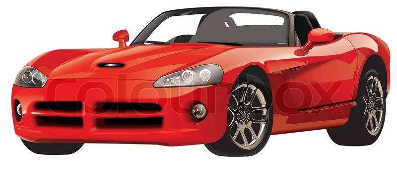 Expensive Car Stock Vector Colourbox