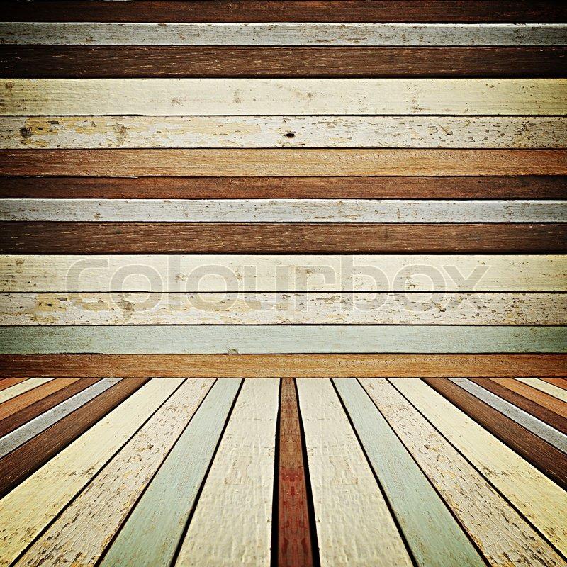 retro gestreiften holz hintergrund lomo stockfoto colourbox. Black Bedroom Furniture Sets. Home Design Ideas