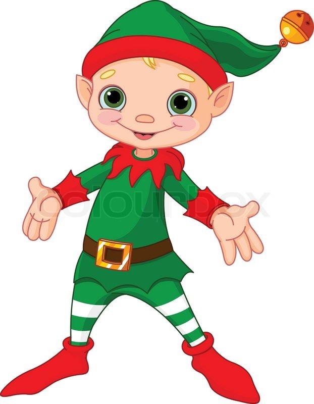 happy elf clipart - photo #2