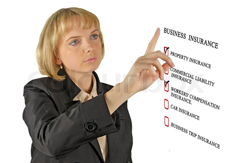 Check List For Business Insurance Stock Photo Colourbox
