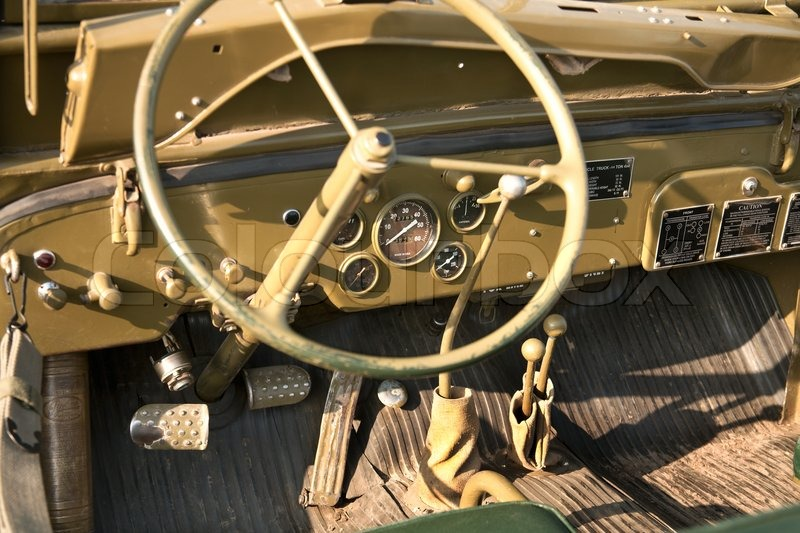 Jeep Willys Mb >> Willys MB US Army Jeep | Stock Photo | Colourbox