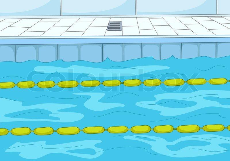 Swimming Pool Stock Vector Colourbox Rh Com Breaststroke Clip Art