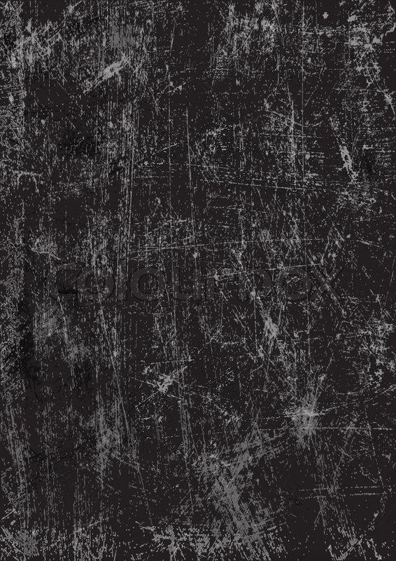 Black scratched texture