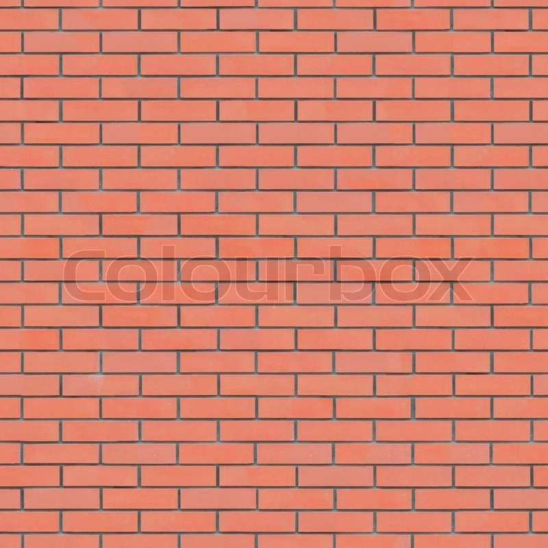 Red Brick Wall Texture Seamlessly Tileable