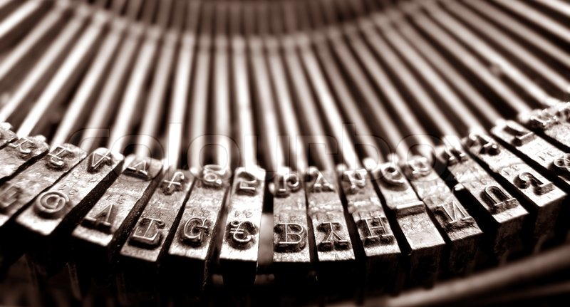Image result for old typewriter