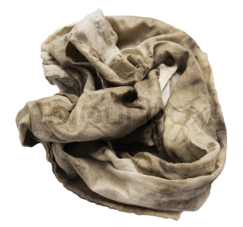 how to clean greasy rags