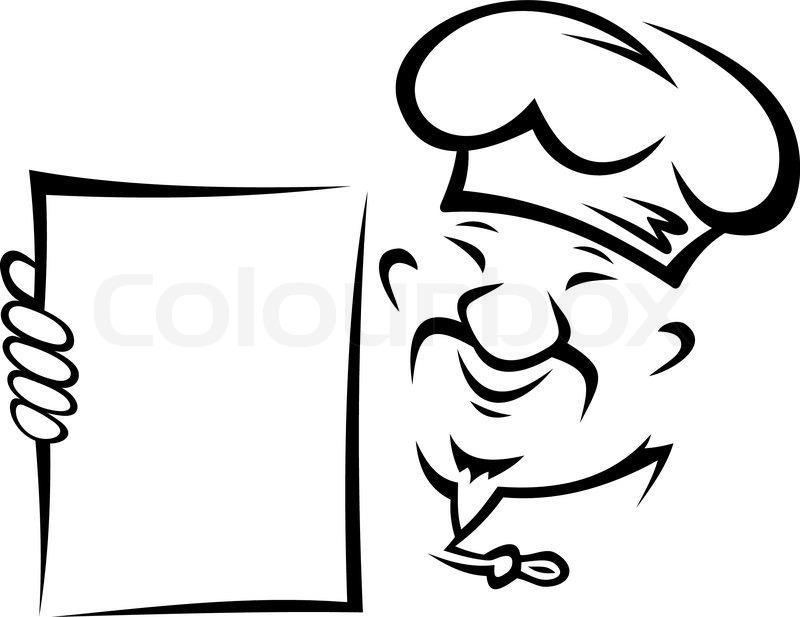 Chinesischer koch mit men stock vektor colourbox for Koch mit bart