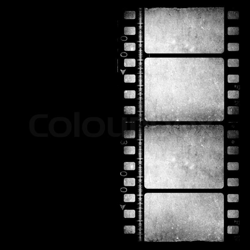 Movie Film reel | Stock Photo | Colourbox
