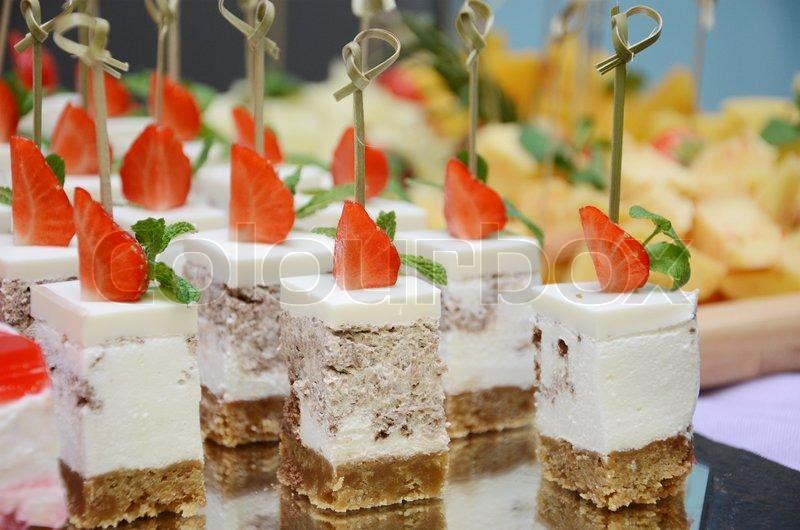 Десерты для фуршета рецепты с фото