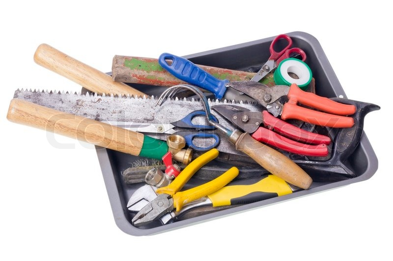 Used Garden Tools Stock Image Colourbox