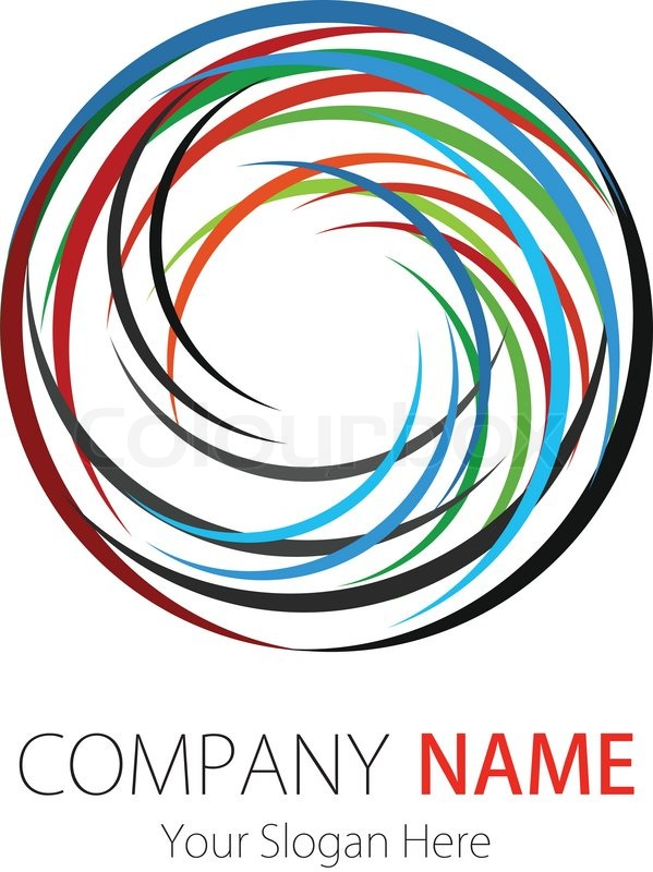 Company business logo design stock vector colourbox thecheapjerseys Gallery