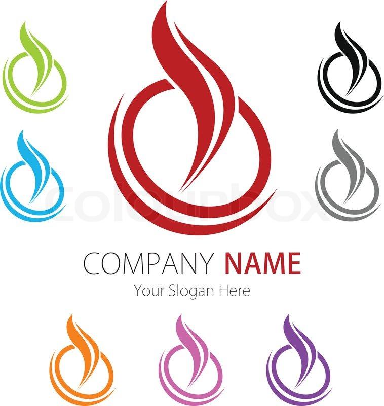 Company (Business) Logo Design | Stock Vector | Colourbox