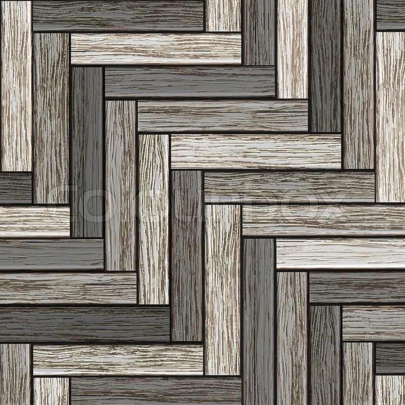 Background Wooden Grey Parquet Stock Vector Colourbox