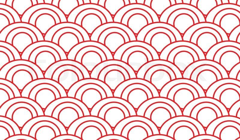Japanese pattern, vector   Stock Vector   Colourbox