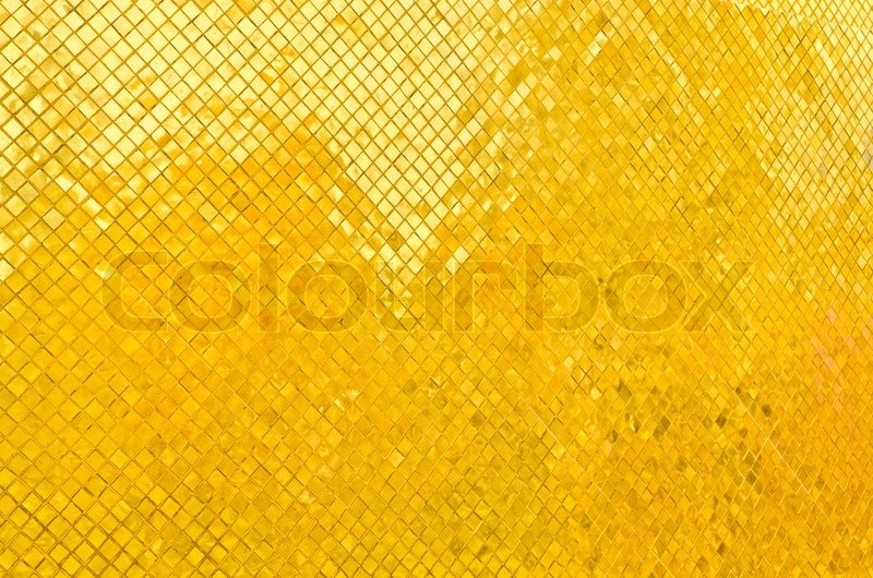 goldene wand thai tempel stockfoto colourbox. Black Bedroom Furniture Sets. Home Design Ideas