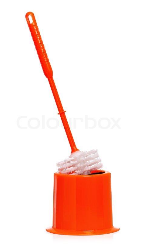 Stock Image Of Toilet Brush