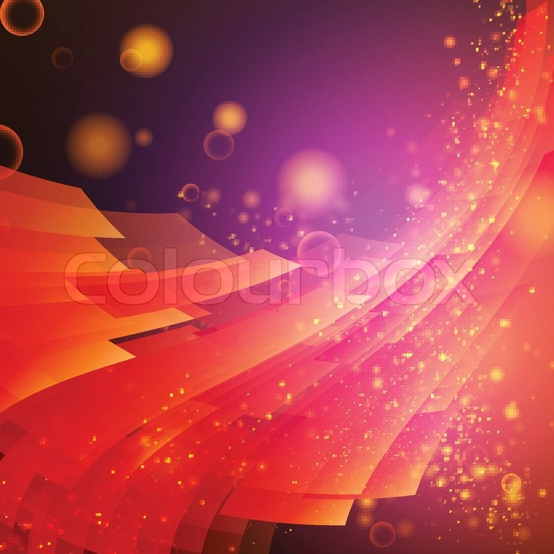 Stock Vector Of Abstract Background Party Music Business Card