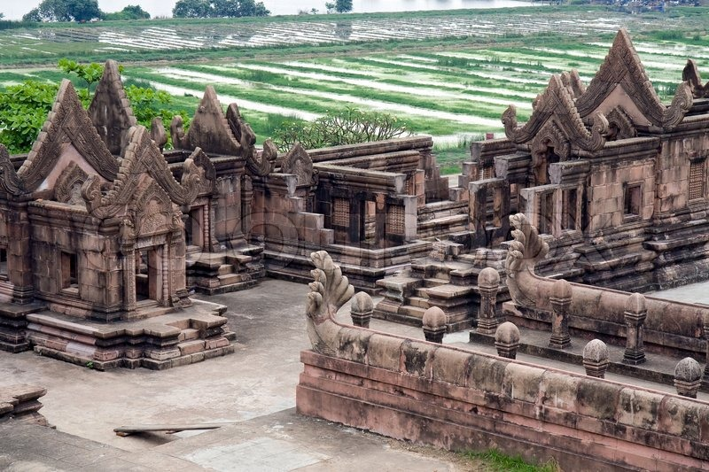 Prasat Phra Wihan Preah Vihear  Stock Photo  Colourbox