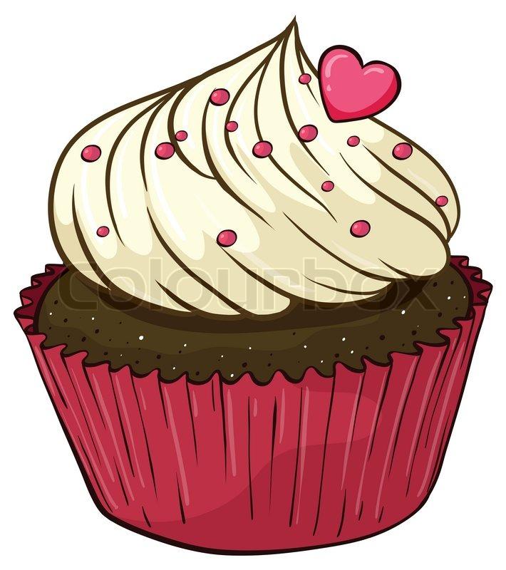 Cupcake Stock Vector Colourbox