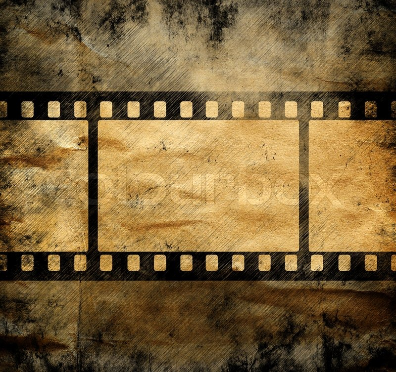 Vintage background with film frame | Stock Photo | Colourbox