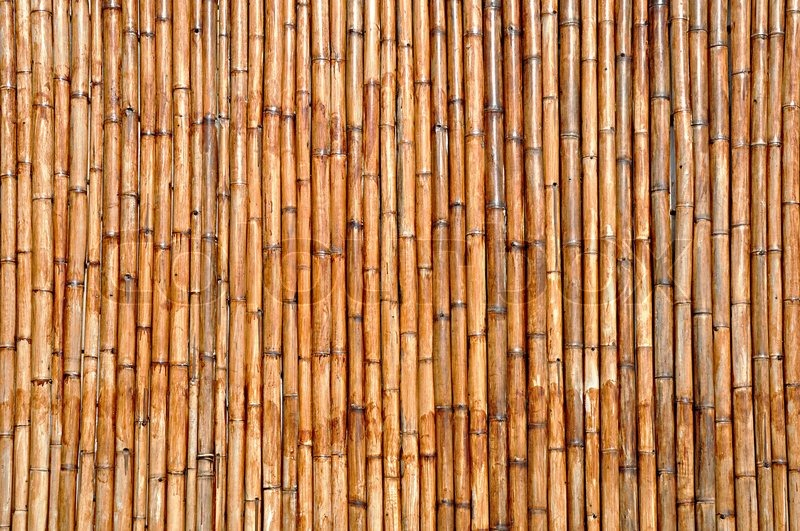 Dry Bamboo Wood Background Stock Photo Colourbox