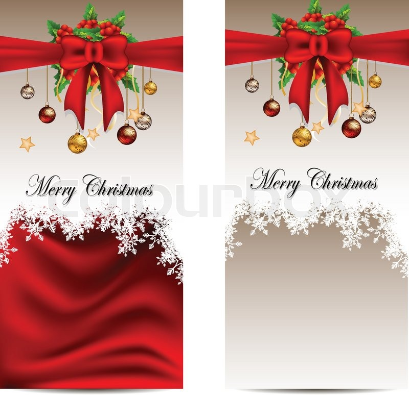 Christmas Card Background.Beauty Christmas Card Background Stock Vector Colourbox