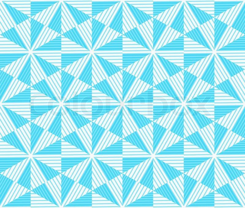 Winter modern geometric seamless pattern ornament for Object pool design pattern