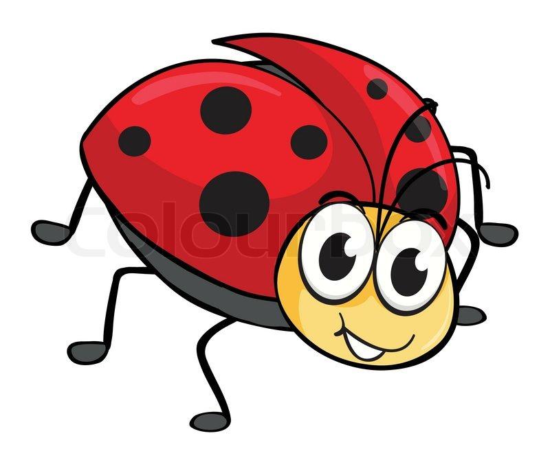 en marieh u00f8ne stock vektor colourbox clipart ladybug black & white clipart ladybug cycle